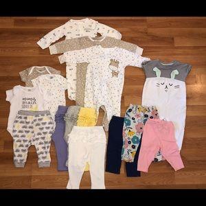 Baby bundle size 6-9 months